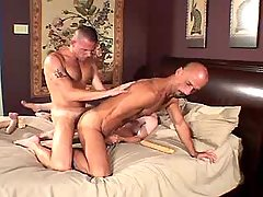 Horny mature gays fuck each other daddy gay porn